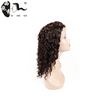 Xuchang hair factory Supplier Making Cap Glueless Full Lace Wig With Bangs