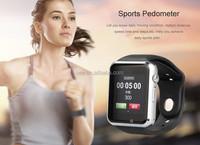 New Arrive Fashion Bracelet Wrist Sports smart Watch Waterproof Touch screen Sports Silicon support SIM card Wrist Watch