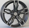 14/15/16/17/18 Inch White bbs rims, BBS replica alloy wheels for cars