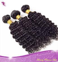 Deep wave remy hair,100% virgin Eurasian unprocessed human hair virgin deep wave hair products big wave