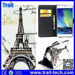 Leather Case for Samsung Galaxy A3,Book Style Leather Case For Mobile Phone