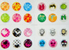 Hot-sale epoxy iphone push button stickers