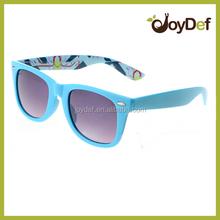 2015 wayfarer sunglasses with decorative pattern printing eyewear