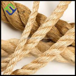 Natural fiber synthetic hemp rope