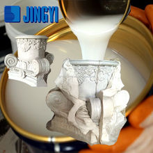 Price Of RTV-2 Liquid Silicone Rubber For Plaster Casting Cornice Mold Good Quality