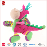 2016 new products Chinese manufacture wholesale plush toys dragon city stuffed wholesale