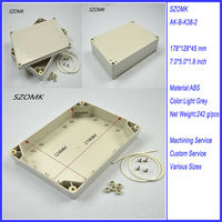178*128*45mm Waterproof Case for Electronics and PCB for Watercraft and Outdoor Project