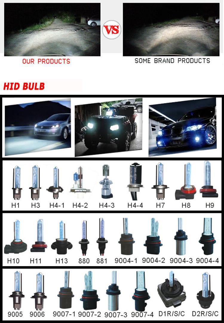 Автомобильные Аксессуары HID Освещение Супер Видение Мощный Canbus 35 Вт 12 В HID Xenon Комплект