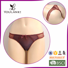 New Design Fashion Young Lady Brown Wholesale Sexy Lingerie