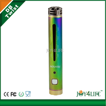 New arrival Asvape db twist with five colors and LED light VV DB twist 1000 amh battery