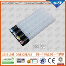 From ASTA hot selling factory directly sale TN-321 toner cartridge used copier for konica minolta bizhub