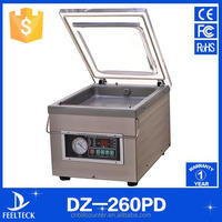 Automatic Mini food meat chicken vacuum sealer sausage rice fish fruit vacuum sealing machine price for vacuum packing machine