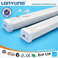 Patent design for t5 9w led tube lamp with Double led integrated tube light
