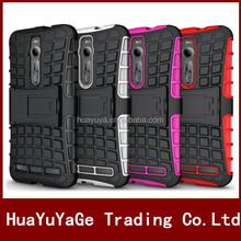 2 in 1 TPU&PC kickstand case cover for Asus Zenfone 2 ZE551ML