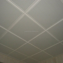 Heat Insulation,Sound-Absorbing,Soundproof,Waterproof and Square Ceiling Tile Shape Aluminum ceiling