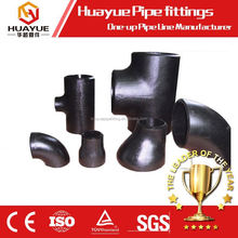 ASTM A234 WPB butt welded carbon steel pipe fittings