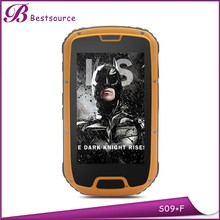 Walkie talkie 3g phone call rugged android phone, ip68 waterproof rugged phone