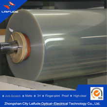 hot sale SGS certificated silicon glue roll coil material HD clear screen defender guard protector protective film