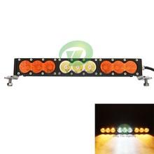 IP67 waterproof 4X4 truck light bar 11.2'' 90w car led light bar for offroad SUV