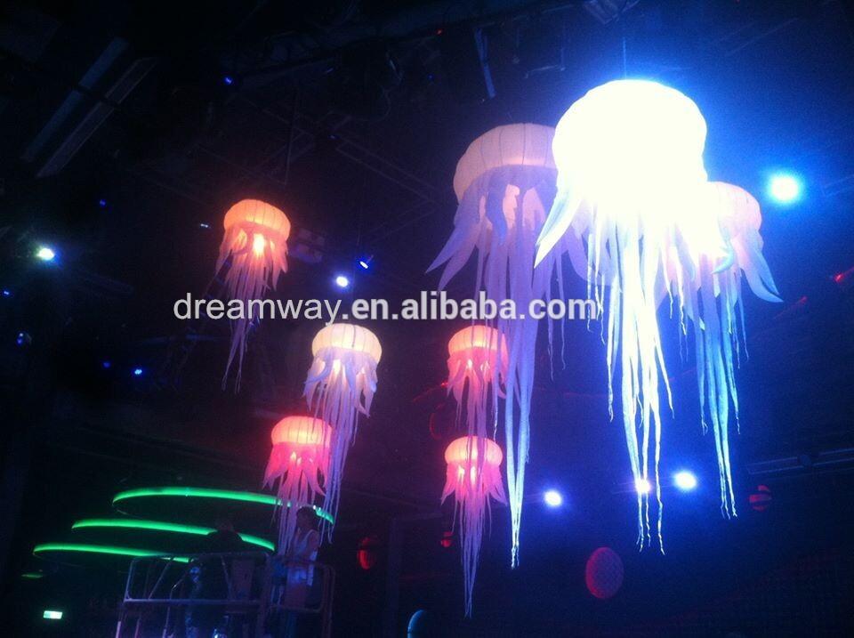 2016 Горячей продажи привели надувные медузы, изменение цвета медузы свет для украшения событий