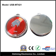 Colorful round usb 2.0 flash drive with memory stick (USB-MT421)