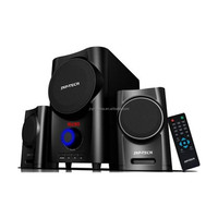 Home theatre fullrange wood speaker long throw horn speaker for PC