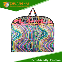 Non-woven fabric garment bags wholesale garment bag with pocket