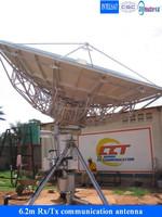 6.2m big satellite vsat antenna