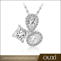 OUXI cheap fancy design fashion necklace indian jewelry wholesaler