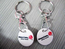 2015 Novelty metal game coin with keychain