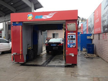 Automated mobile car wash machine, Best solutions to Community services center