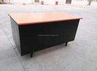 Office desk with single pedestal