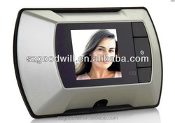 """Nice look 2.4"""" 100 degree angle security door viewer easy use for child and older doorbell"""