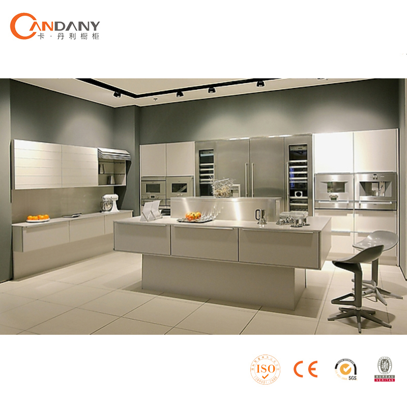 2015 Hot Sale High Glossy Lacquer Kitchen Cabinet High End