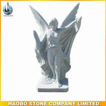 estatua de mármol para el cementerio religiosa o patio de la iglesia