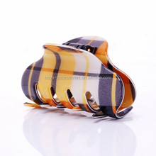 Bright color large size korea plastic jewel hair claws