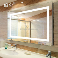 bathroom hotel LED light mirror