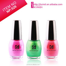 2014 hot sales fast dry and chip-resistant 16ml bottle glitter shine UV cap nail polish
