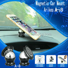 A-8 Conveninet universal Steelie rotating mount for cell phone Magnetic phone holder steelie sticky