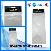 long plastic packaging bags for hair extension
