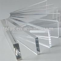 Clear or transparent ABS plastic sheet
