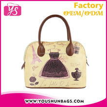 2015 new model wholesale cheap designer fashion PU leather lady handbags