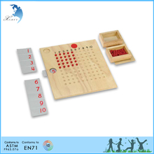 2015 hot new educational toys modern montessori teaching equipments math montessori material set