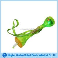 plastic LED yard glass with lanyard