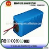 Long life cycle rechargeable lithium ion battery 12v 40ah li battery pack 3s20p with PCM and wire