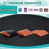 Customized Premium IQF Frozen Pink Salmon Portion