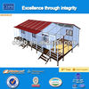 Well-designed low price steel structure prefab building with legs