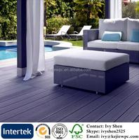 dark grey color free sample wpc flooring wood plastic decking price composite wood