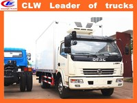factory direct sale light Refrigerated truck 4*2 ice cream truck 6 wheeler ice cream van ice cream van for sale