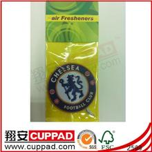 2014 newly and most popular football design paper freshener